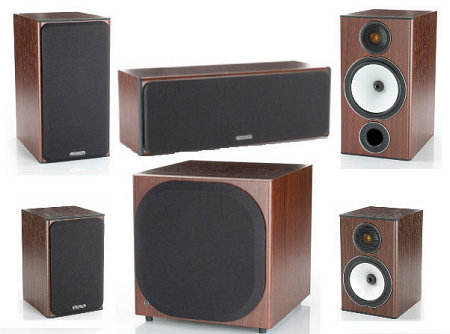 Monitor Audio Bronze BX2 + BX1 + BX Centre + BXW10