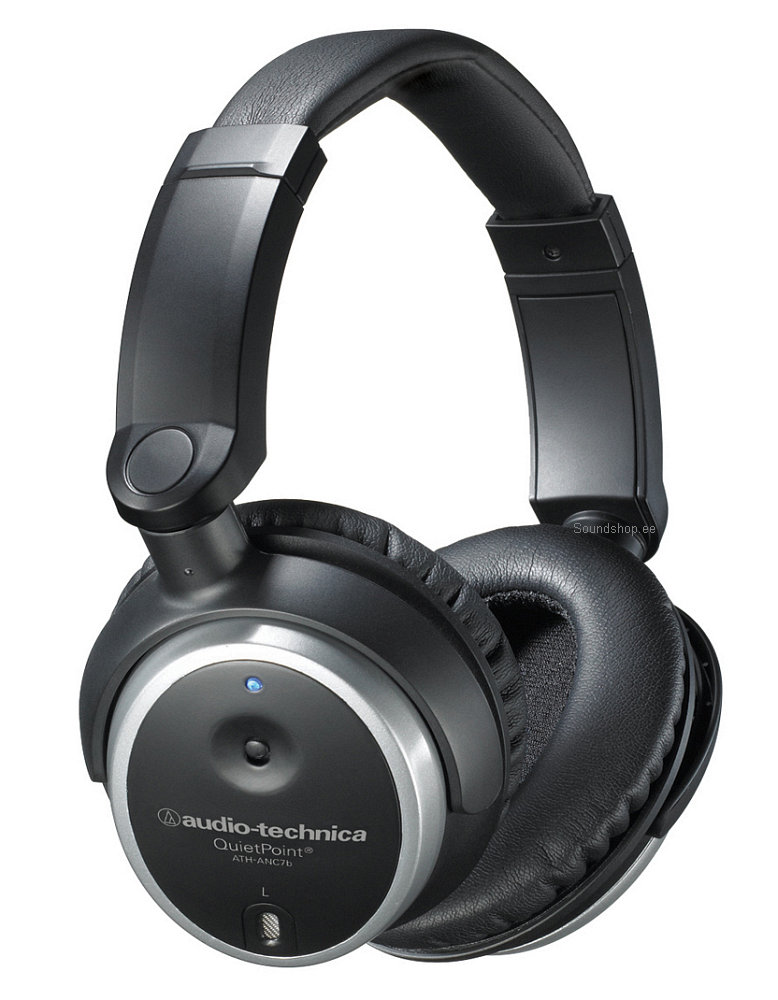 Audio-Technica ATH-ANC7B QuietPoint pilt 0