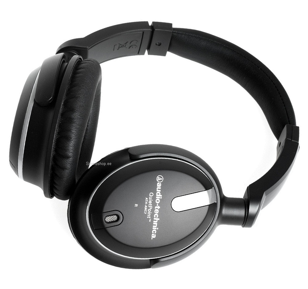 Audio-Technica ATH-ANC7B QuietPoint pilt 2