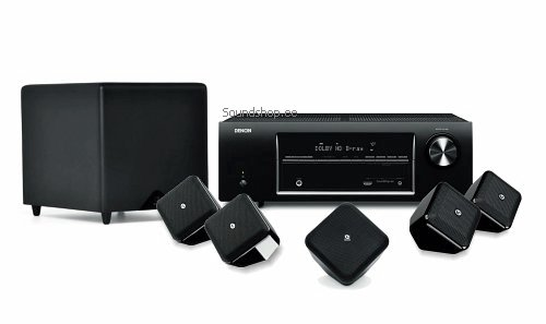 Denon AVR-1513 + Boston Acoustics SoundWareXS 5.1 SE (MK2)