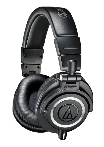 Koht nr. 4 - Audio-Technica ATH-M50X Must