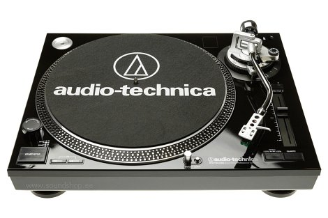 Koht nr. 2 - Audio-Technica AT-LP120USB-HS BLACK