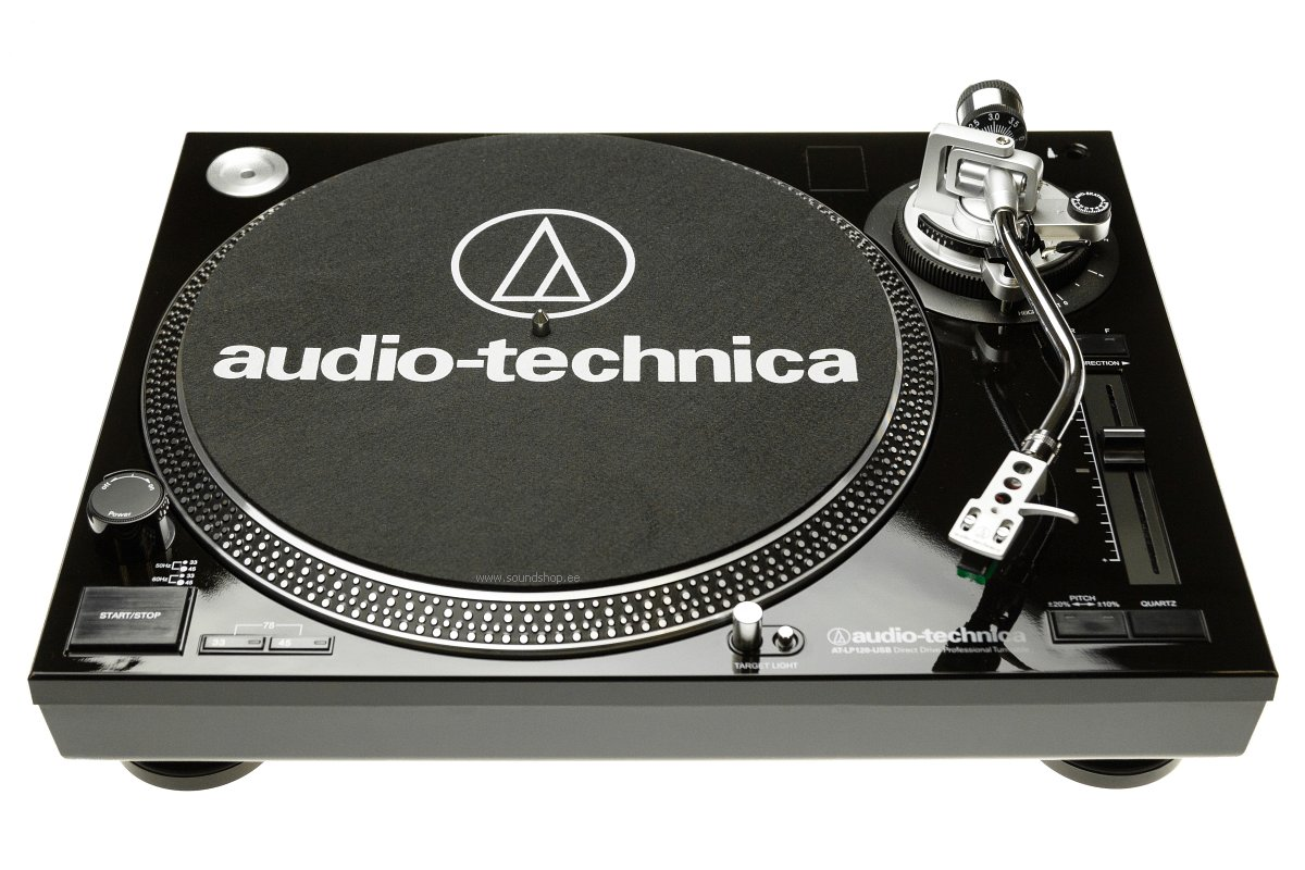 Audio-Technica AT-LP120USBHC BLACK pilt 0