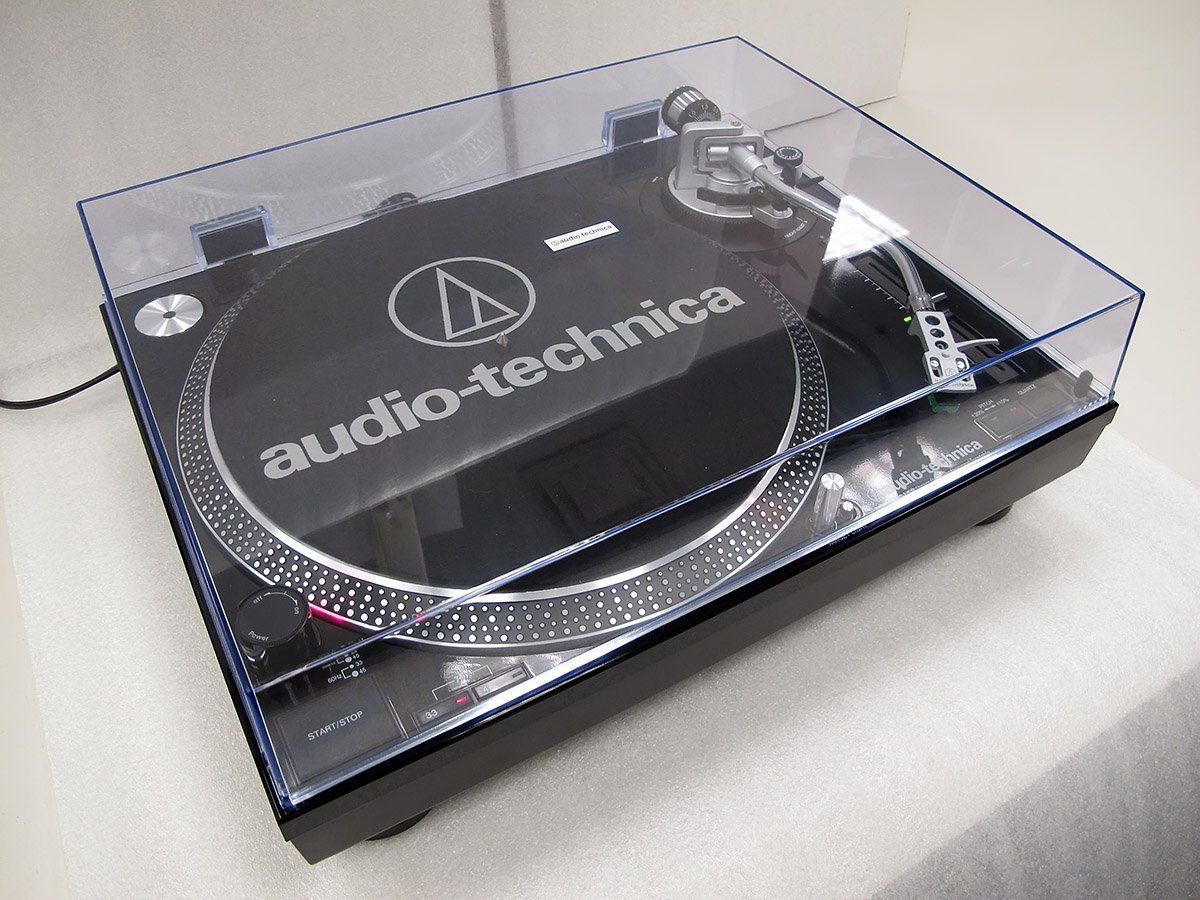 Audio-Technica AT-LP120USBHC BLACK pilt 4