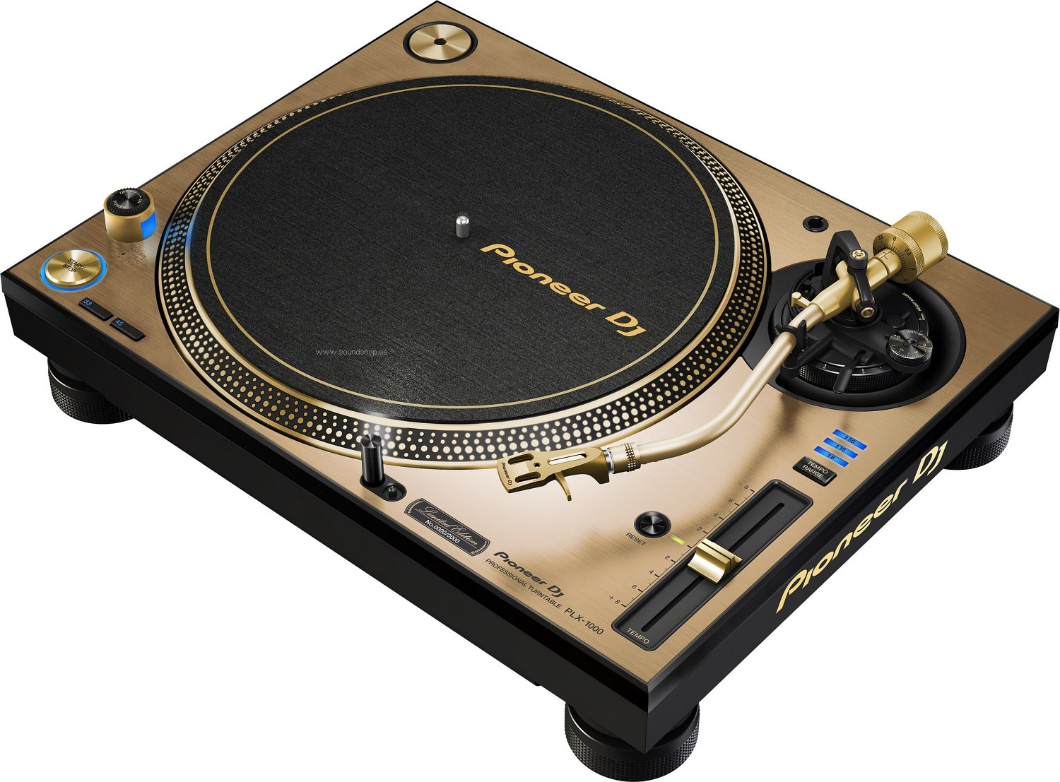 Pioneer PLX-1000 Gold (Limited Edition) pilt 0