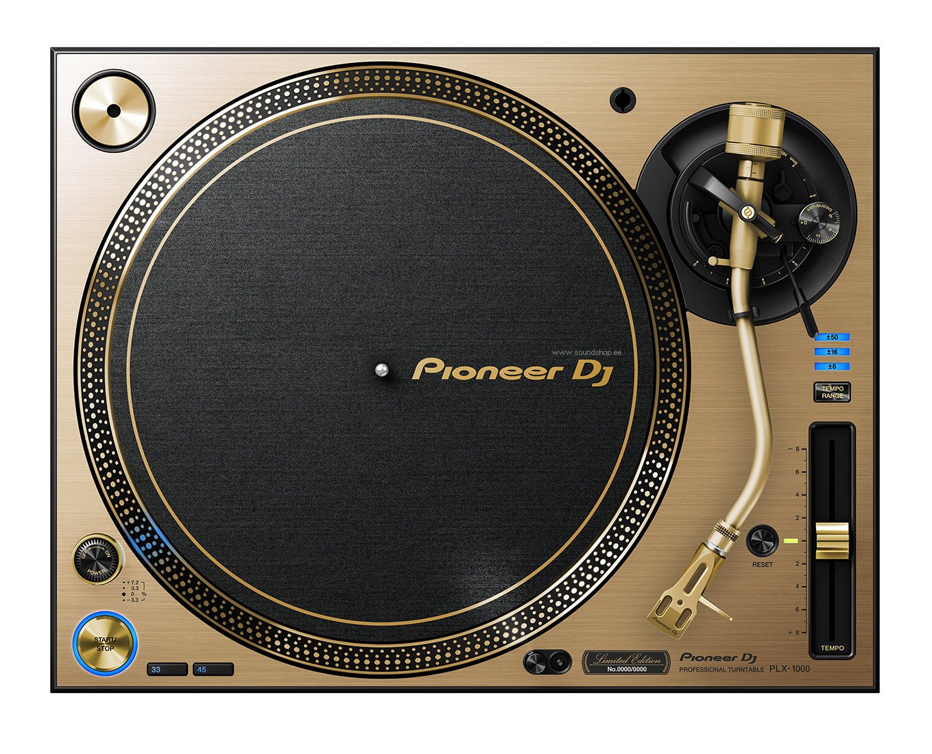 Pioneer PLX-1000 Gold (Limited Edition) pilt 1