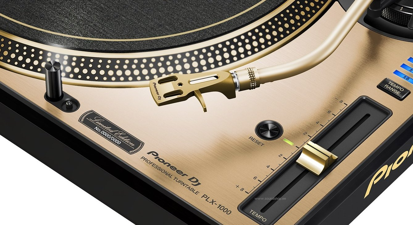 Pioneer PLX-1000 Gold (Limited Edition) pilt 3