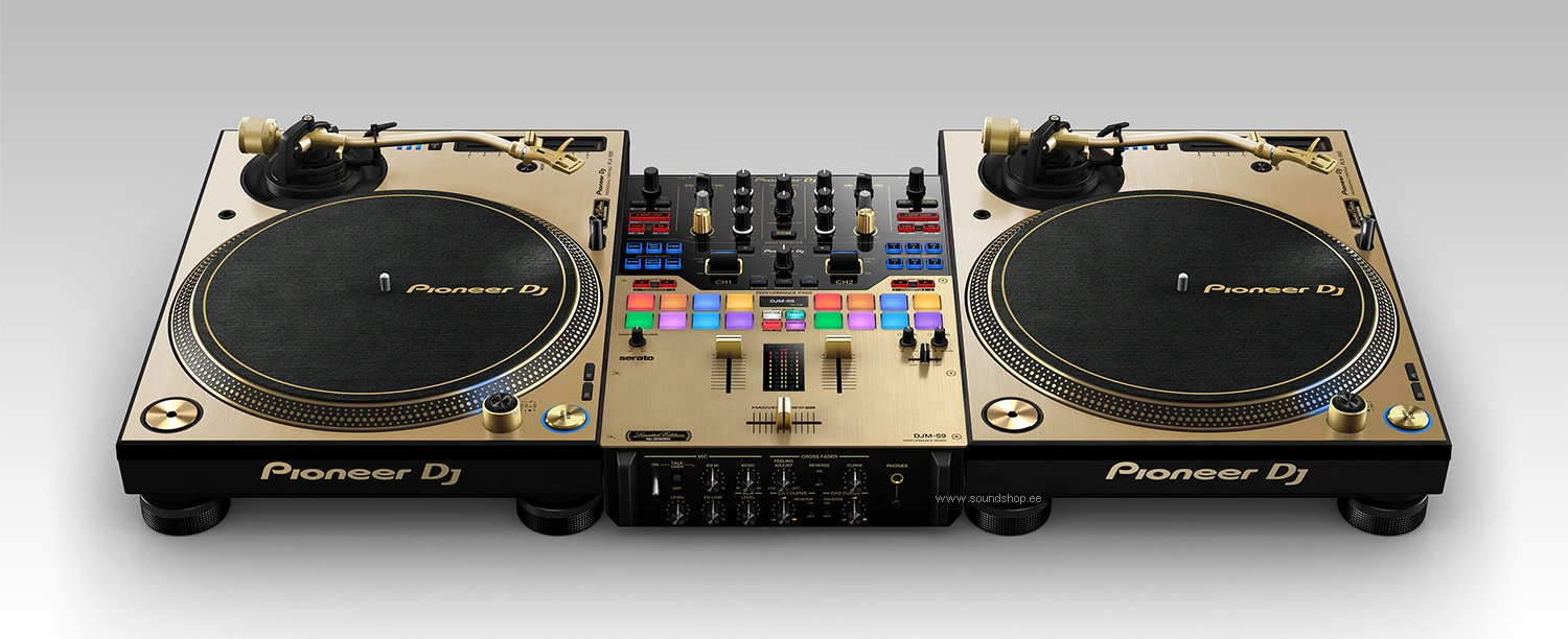 Pioneer PLX-1000 Gold (Limited Edition) pilt 4