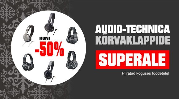 Audio-Technica Superale, kuni -50%